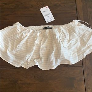 New with tags Zara crop top